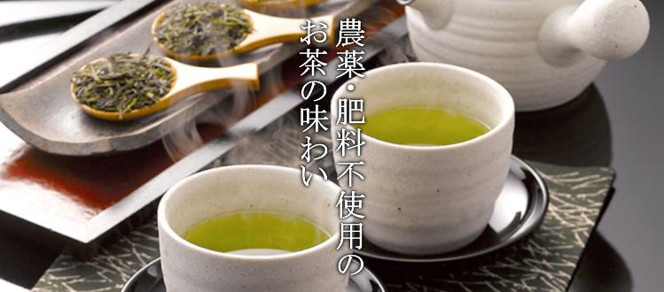オーガニックの煎茶のイメージ